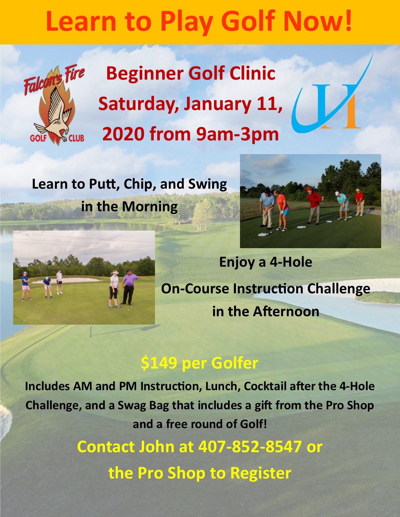 Play Golf Now January Clinic